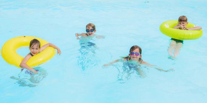 Het zwembad - open vanaf 15 juni