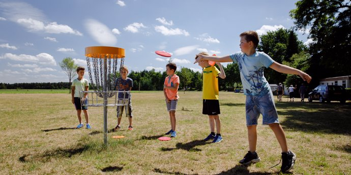 Flaasbloem Frisbee Games