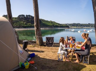 Camping pitch – on the seaside RCN Port l' Epine