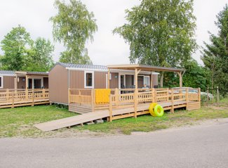 Wheelchair accessible mobile home de Zwaan