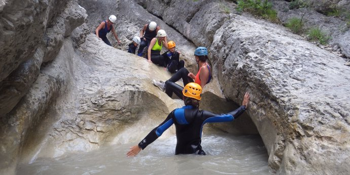 Canyoning for young and old