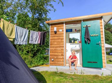 RCN Toppershoedje   Kampeerplaats met privé sanitair